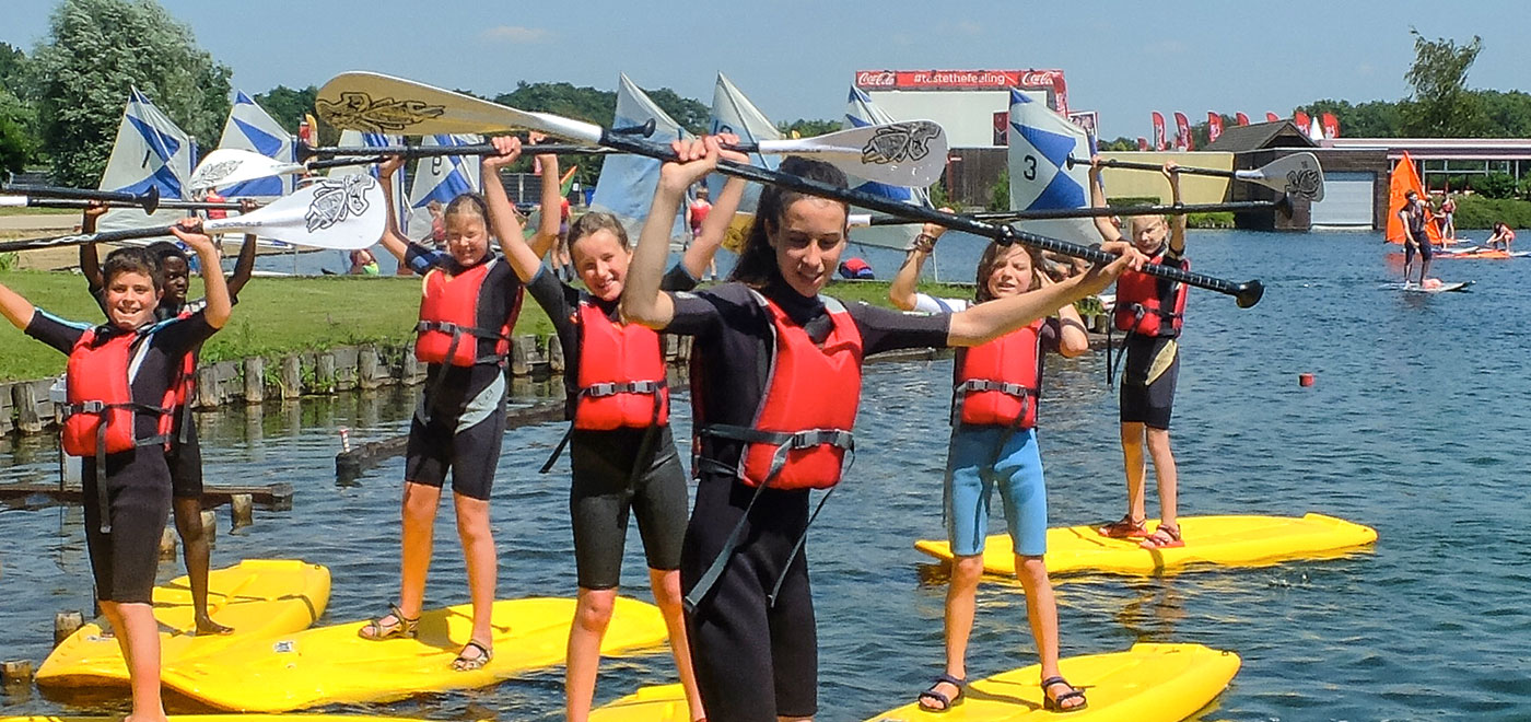 Pelican School Kamp Watersportmix & Watergames Header