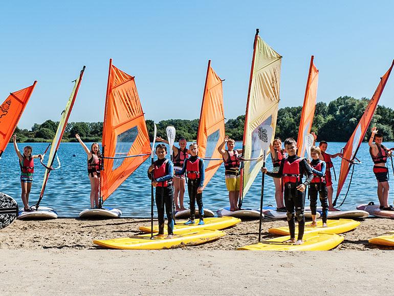 Pelican School Kamp Windsurfen & Watergames